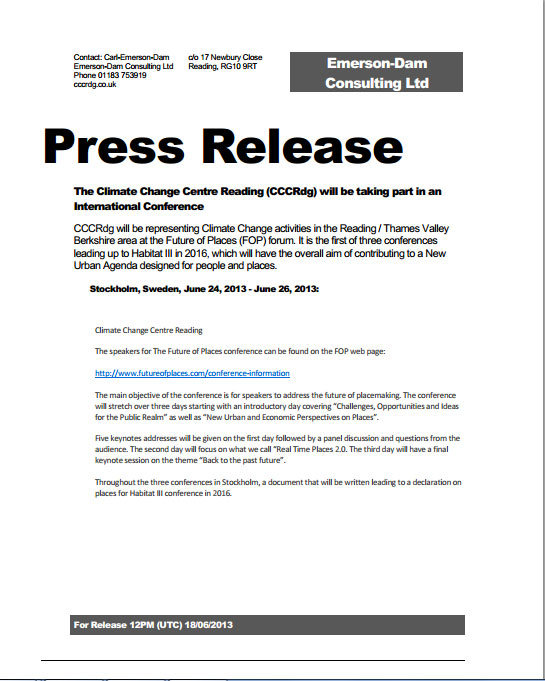 How to Write a Press Release for Your Conference