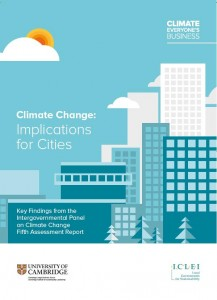 climate Change: Implications for Cities
